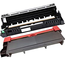 2PK-1 Inkfirst® High Yield Toner Cartridge + 1 Drum Unit TN-660 DR-630 Compatible Remanufactured for Brother TN-660 DR-630 (1 toner + 1 drum) HL-L2300D HL-L2305W HL-L2320D HL-L2340DW HL-L2360DW HL-L2380DW DCP-L2520DW DCP-L2540DW MFC-L2700DW