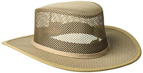 Stetson Men's Mesh Covered Hat, Mushroom, XXL ()