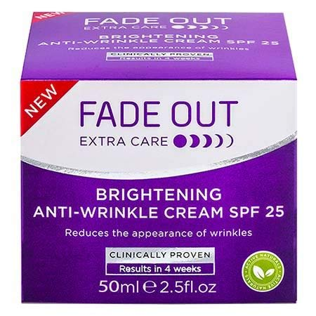 #MC FADE OUT Anti Wrinkle Cream White 50ML-Help to Leave Skin Smooth, Hydrated and Brighter, Whilst Fighting Against The Appearance of Fine Lines and Wrinkles.