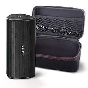 AY 30W Bluetooth 4.2 Enceintes Portables avec étui Rigide, Enceintes sans Fil IPX7 Étanche, Super Bass Sound 360 ° avec TWS, Lecture 24h / 24, Parfait pour Les fêtes et Les Loisirs en Plein Air. 1