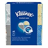 Kleenex Trusted Care 2-Ply Facial Tissue, 4 Cube Boxes