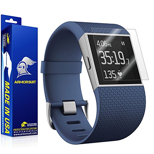 ArmorSuit MilitaryShield - Fitbit Surge Fitness Superwatch Screen Protector (Full