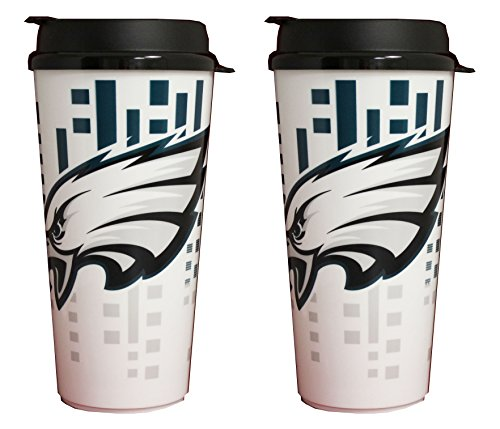 - NFL Philadelphia Eagles 32oz Single Wall Travel Mug 2 pack