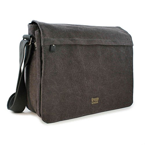 troop-london-unisex-canvas-laptop-messenger-bag-trp0240-black