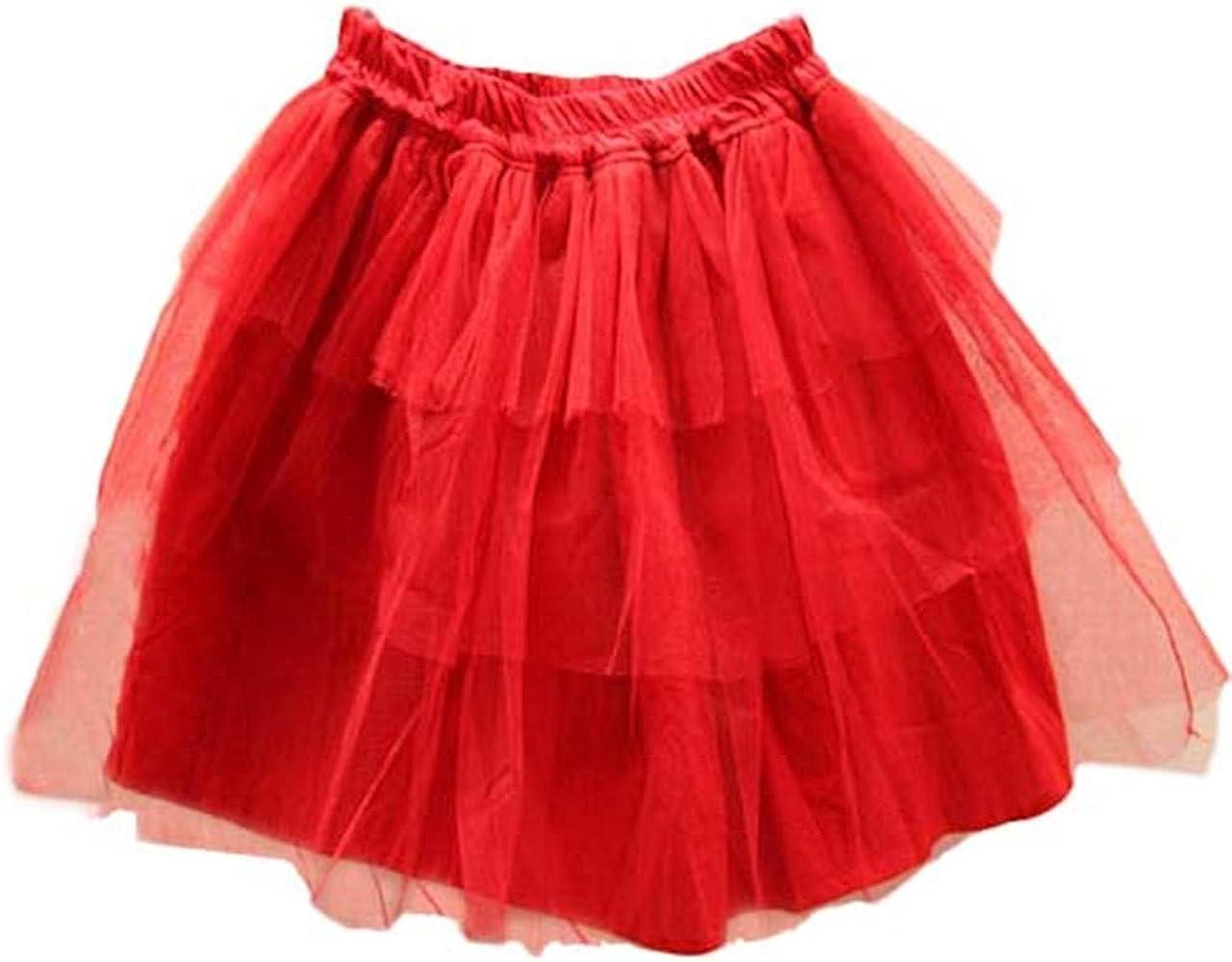 Black Sugar - Falda de tutú para fiesta de disfraz, color rojo ...