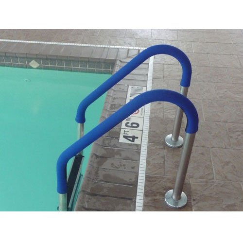 10ft. Swimming Pool Ladder and Rail Grip - Royal Blue