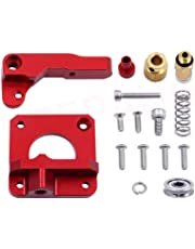 LEOWAY Creality 3D Ender 3 Extruder Upgraded Replacement, Aluminum MK8 Drive Feed 3D Printer Extruders for Creality CR-10, CR-10S, CR-10 S4 and CR-10 S5 Right Hand Version