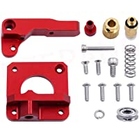 LEOWAY Ender 3 Extruder Upgraded Replacement, Aluminum MK8 Drive Feed 3D Printer Extruders for Creality CR-10, CR-10S…