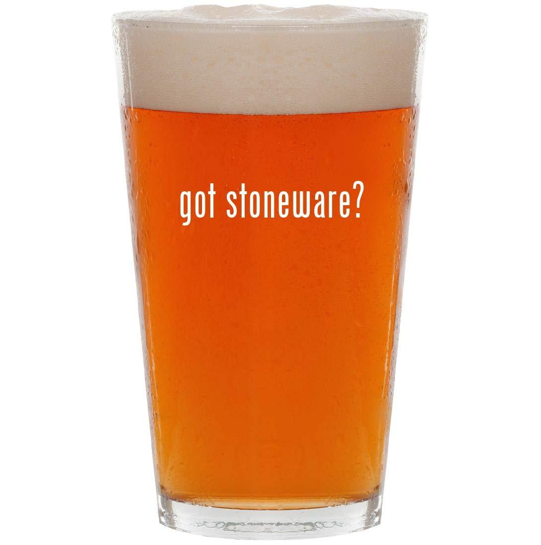 got stoneware? - 16oz Pint Beer Glass