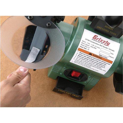 grizzly h7760 combo belt sandergrinder buy online in