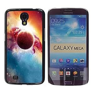 Paccase / SLIM PC / Aliminium Casa Carcasa Funda Case Cover para - Popular Red Planet Explosion Galaxy Universe Art - Samsung Galaxy Mega 6.3 I9200 SGH-i527