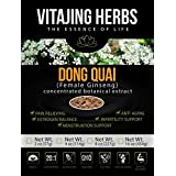 Dong Quai Extract Powder (4oz) 20:1 CONCENTRATION - ORGANIC & CHEMICAL FREE