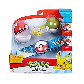 premier taux collection entière différemment Character Optiions Ensemble Ceinture Pokemon Clip & Go Poke ...