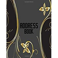 Address Book: A4 Extra Large At A Glance Address Log Book For Contacts, With Addresses, Phone Numbers, Emails & Birthday. Alphabetical A-Z Organizer ... Volume 73 (Extra Large Address Books)