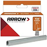 "Arrow T25 Genuine Arrow Staples, 1000 staples 9/16"" 14mm #259 round crown"