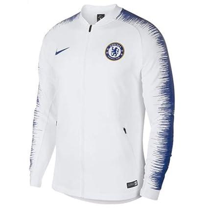 : Nike 2018 2019 Chelsea Anthem Jacket (White