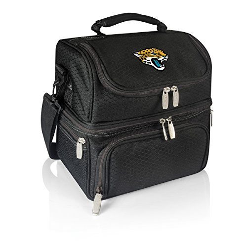 (PICNIC TIME NFL Jacksonville Jaguars Pranzo Insulated Lunch Tote with Service for One,)