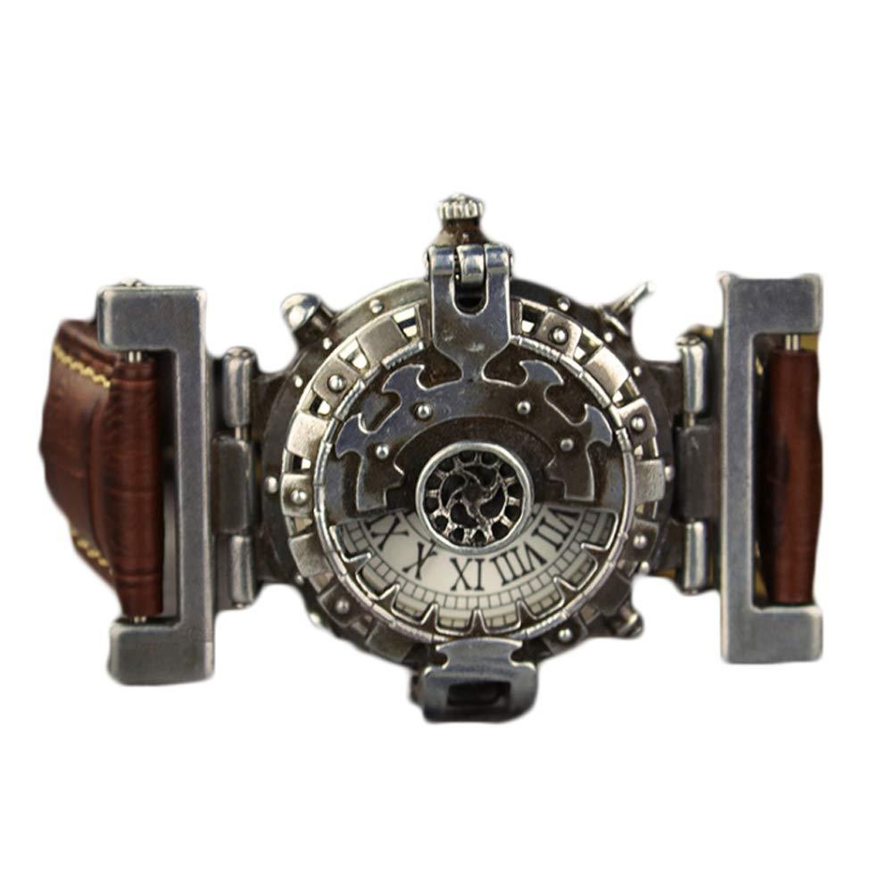 XINXIN Steampunk Retro Braun Lederriemen Persönlichkeit Creative Quarz DREI-Nadel-Uhr DREI-Nadel-Uhr DREI-Nadel-Uhr c20e71