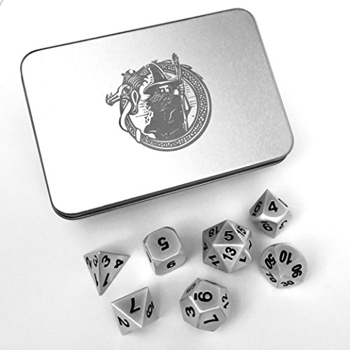 d and d metal dice set - 5