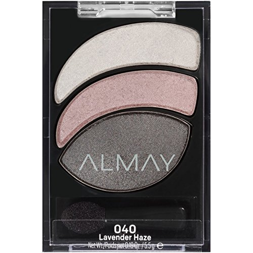 ALMAY Smoky Eye Trios, Lavender Haze, 1.4 Ounce