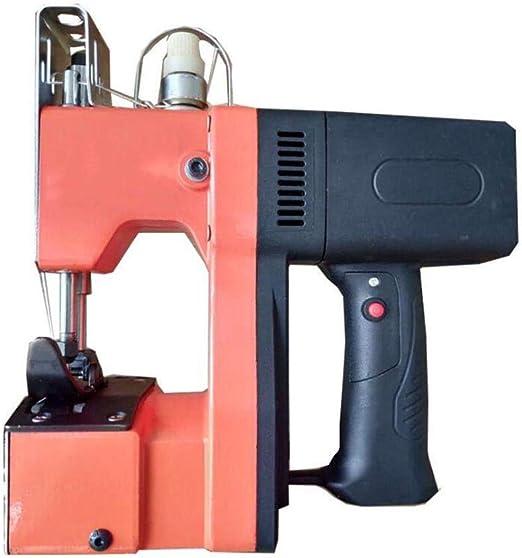 XGHW Máquina de Coser portátil empacadora eléctrica máquina de Sellado Bolsa Tejida 210 W para Bolsa de plástico de Papel de arroz Saco de Piel de Serpiente Tejida: Amazon.es: Hogar