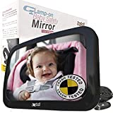 Best Baby Rear View Mirrors - Backseat View Baby Safety Mirror - Easy To Review