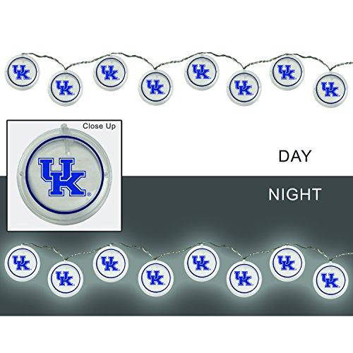 Team Sports America University of Kentucky Outdoor Safe Battery Powered String Light Set from Team Sports America
