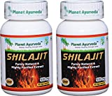 Planet Ayurveda Shilajit Capsules, 500mg Std. Extract, 2 Bottles Review