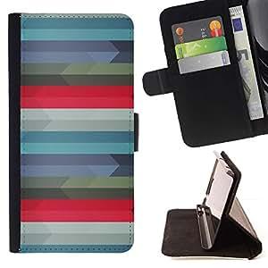 Momo Phone Case / Flip Funda de Cuero Case Cover - Patrón Geometría;;;;;;;; - LG G4