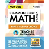 Argo Brothers Math Workbook, Grade 3: Common Core Multiple Choice (3rd Grade)