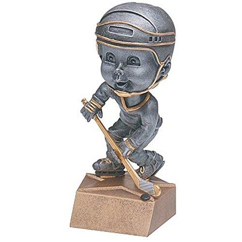 Decade Awards Ice Hockey Bobblehead Trophy, Female - Hockey Award - 6 Inch Tall - Customize Now