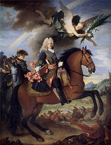 ['Ranc Jean Felipe V A Caballo Ca. 1723 ' Oil Painting, 12 X 16 Inch / 30 X 40 Cm ,printed On Polyster Canvas ,this High Resolution Art Decorative Canvas Prints Is Perfectly Suitalbe For Kids Room Gallery Art And Home Decoration And] (God Of War 3 Costumes Hack)