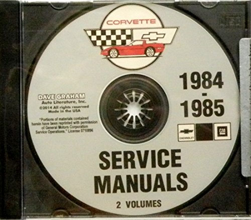 corvette factory service manual - 9