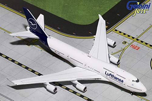 GeminiJets 1:400 Scale Lufthansa Boeing 747-400 Airplane Model