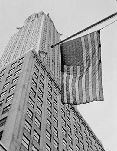 USA New York City Manhattan Chrysler Building low angle view Poster Print (24 x 36)