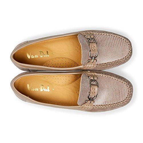 Loafers Van Fawn Bliss WoMen Dal Beige Print 4qq7Tvx