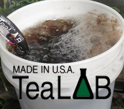 Compost Tea Kit: 50 Gallon Brewer Kit: BubbleSnake, Large Brew Bag, Air Pump & Tubing by TeaLAB