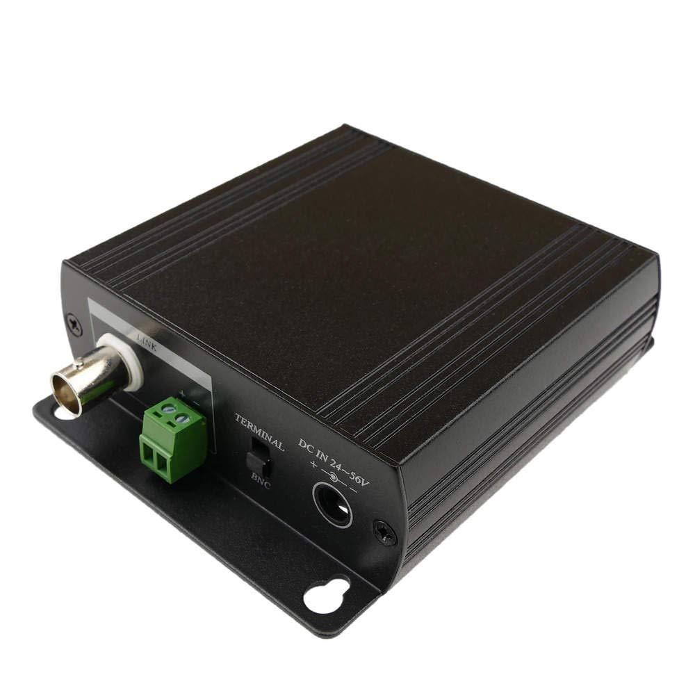 Cablematic Extensor ethernet TCP/IP y alimentación por cable coaxial RG6U RG59U: Amazon.es: Electrónica