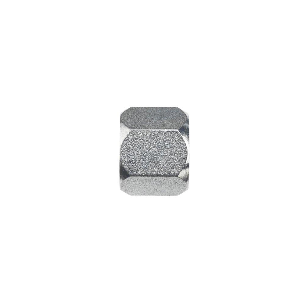 Brennan 0304-C-24 Steel JIC Flared Tube Fitting, Cap Nut, 1-1/2'' Tube OD
