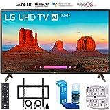 LG 43UK6300 43' UK6300 Smart 4K UHD TV (2018) with Wall Mount + Cleaning Kit (43UK6300PUE)