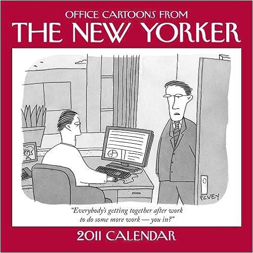 Cartoons from The New Yorker: 2011 Mini Wall Calendar