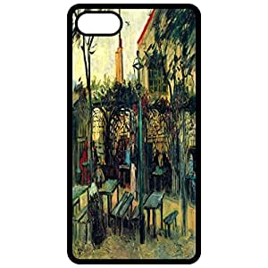 Terrace Of A Cafe Painting By Vincent Van Gogh Black Apple Iphone 6 (4.7 Inch) Cell Phone Case - Cover