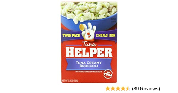 Amazon.com : Tuna Helper Betty Crocker Creamy Broccoli, Twin Pack, 12.8 Ounce (Pack of 9) : Packaged Pasta Dinner Kits : Grocery & Gourmet Food