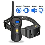 FOCUSPET Remote Dog Training Collar,Rechargeable & Waterproof,Blind Operation Anti-stuck Button Remote 655 yd Remote Range Training,Dog Shock Collar Beep,Vibration Shock Mode All Dog