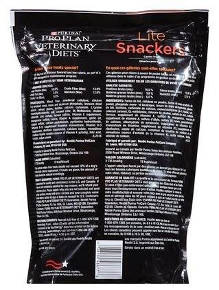 Purina Lite Snackers Dog Treats, 8 oz, Case of 12