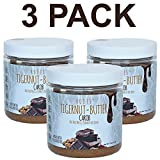 Tiger nuts butter ALLERGEN FRIENDLY and ALL NATURAL | No nuts, seeds, gluten or soy | AIP and paleo compliant (7.5 oz.) Carob Flavor 3 PACK. Review