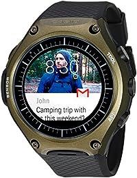 'Smartwatch' Quartz Resin Smart Watch, Color:Black (Model: WSD-F10GN)