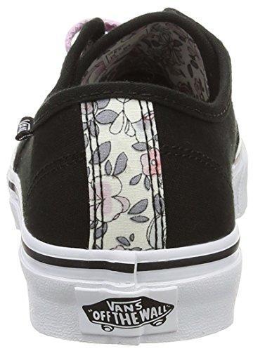 Vans - Camden Stripe, Zapatillas Mujer, Negro (espadrille/natural), 34.5 EU Negro (vintage Floral/black/lavender)