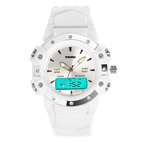 TONSHEN Moda Relojes de Pulsera Mujer, Deportivo LED Electrónica Digital Dial Time Militares 12H /