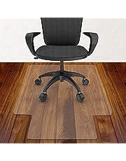 Azadx Office Chair Mat for Hardwood Floor 36 x 48'', Clear Desk Chair Mat for Wood Floor Heavy Duty, Office Mat Plastic Protector for Hard Surface Floors